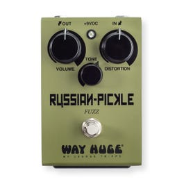 Way Huge WHE408 Russian Pickle Fuzz Guitar Effects Pedal