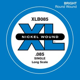 Image for XL Nickel Round Wound Single Bass String (.085) from SamAsh