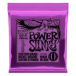 Image for 2220 Power Slinky  Electric Guitar Strings (11-48) from SamAsh