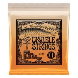 Ernie Ball Concert/Soprano Nylon Ball-End Ukulele Strings, Clear