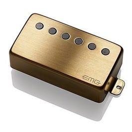 EMG 66 Active Neck Electric Guitar Pickup, Brushed Gold