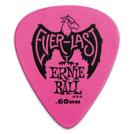 Image for Everlast Guitar Picks, 12 Pack, 60mm from SamAsh