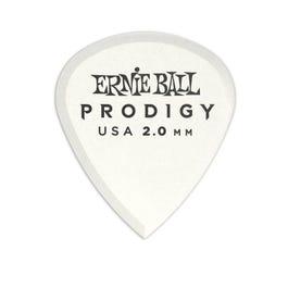Ernie Ball 9203 Prodigy Picks, White Mini, 6 Pack, 2.0mm