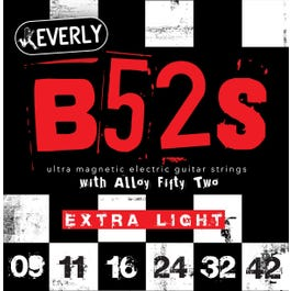 Image for B52 Rockers Alloy Electric Guitar Strings (9-42) from SamAsh