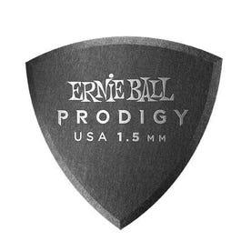 Ernie Ball 9331 Prodigy Picks, Black Shield, 6 Pack, 1.5mm