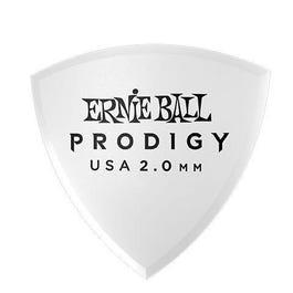 Ernie Ball 9337 Prodigy Picks, White Shield, 6 Pack, 2.0mm