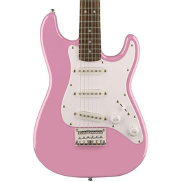 Image for Mini Strat V2 Electric Guitar (Pink, Rosewood Fingerboard) from SamAsh