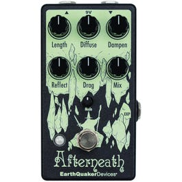 EarthQuaker Devices Afterneath V3 Enhanced Otherworldly Reverberator Reverb Pedal