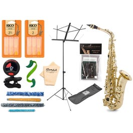Image for JB290 Student Alto Saxophone Pack with Accessories from SamAsh