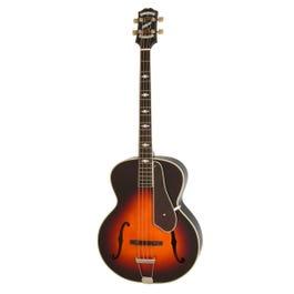 Image for Masterbilt Century De Luxe Classic 4-String Acoustic-Electric Bass (Vintage Sunburst) from SamAsh