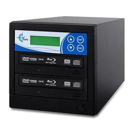 EZ Dupe BRPIOB2 Professional 2-Target Blu-Ray 12X BD-R/DVD/CD Duplicator