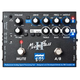 Image for MicroBass II Bass Preamp/DI Pedal from SamAsh