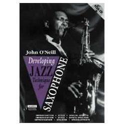 Image for Developing Jazz Technique for Saxophone Book & CD (Alto Sax) from SamAsh