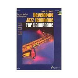 Image for Developing Jazz Technique for Saxophone Book & CD (Tenor Sax) from SamAsh