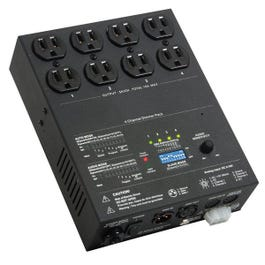 Image for ED15 4 Channel DMX Dimmer Pack from SamAsh