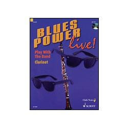 Image for Blues Power Live for Clarinet (Book & CD) from SamAsh