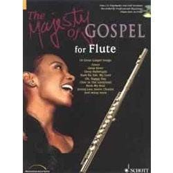 Image for The Majesty of Gospel for Flute Book & CD from SamAsh
