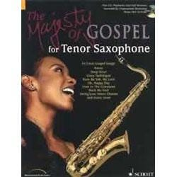 Image for The Majesty of Gospel for Tenor Sax Book & CD from SamAsh