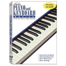 Image for Piano and Keyboard Basics Instructional Software from SamAsh