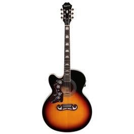 Image for J-200 EC Studio Left-Handed Acoustic-Electric Guitar from SamAsh
