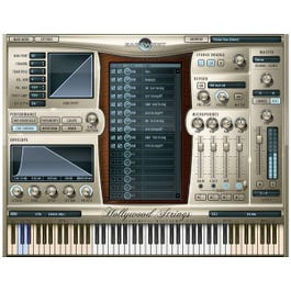 Image for Hollywood Strings Diamond Edition Virtual Instrument (MAC) from SamAsh