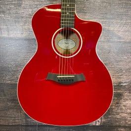 Taylor 214ce-Red HSC DLX (2018) Acoustic Guitar