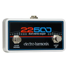 Electro-Harmonix 22500 Dual Stereo Looper Foot Controller Pedal