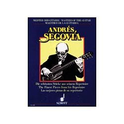 Image for Andres Segovia: The Finest Pieces from His Repertoire (Guitar) from SamAsh