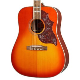 Image for Inspired by Gibson Hummingbird Acoustic-Electric Guitar (Aged Cherry Sunburst Gloss) from SamAsh