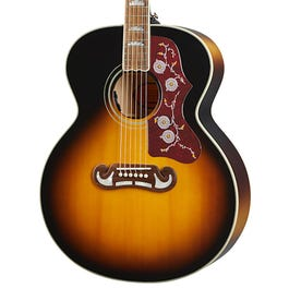 Image for Inspired by Gibson J-200 Acoustic-Electric Guitar (Sunburst) from SamAsh