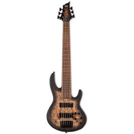 Image for LTD D-6 6-String Bass Guitar (Black Natural Burst Satin) from SamAsh