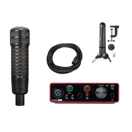 Image for RE320 Microphone with Audio Interface