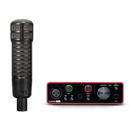 Image for RE320 Dynamic Microphone with Focusrite Audio Interface from SamAsh