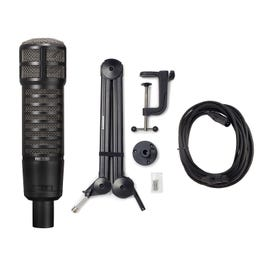 Image for RE320 Dynamic Microphone with Boom Arm and XLR Cable from SamAsh
