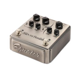 Egnater Silversmith Distortion and Boost Guitar Effect Pedal