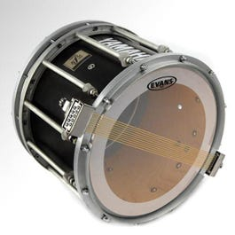 """Image for 14"""" MS3 Clear Snare Side Drumhead from SamAsh"""