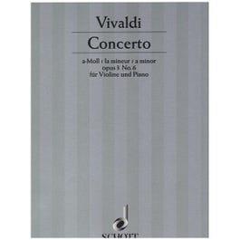 Image for Vivaldi L'Estro Armonico RV356 PV1 (Piano Reduction) from SamAsh