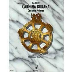 Image for Carmina Burana - Vocal Score from SamAsh