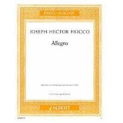 Image for Joseph-Hector Fiocco - Allegro for Violin and Piano from SamAsh