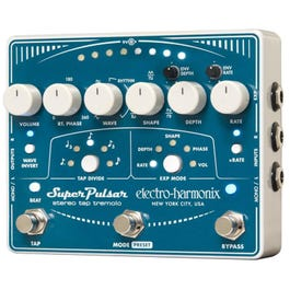 Image for Super Pulsar Stereo Tap Tremolo Guitar Effect Pedal from SamAsh