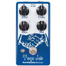 Image for Tone Job V2 Boost and EQ Guitar Effects Pedal from SamAsh