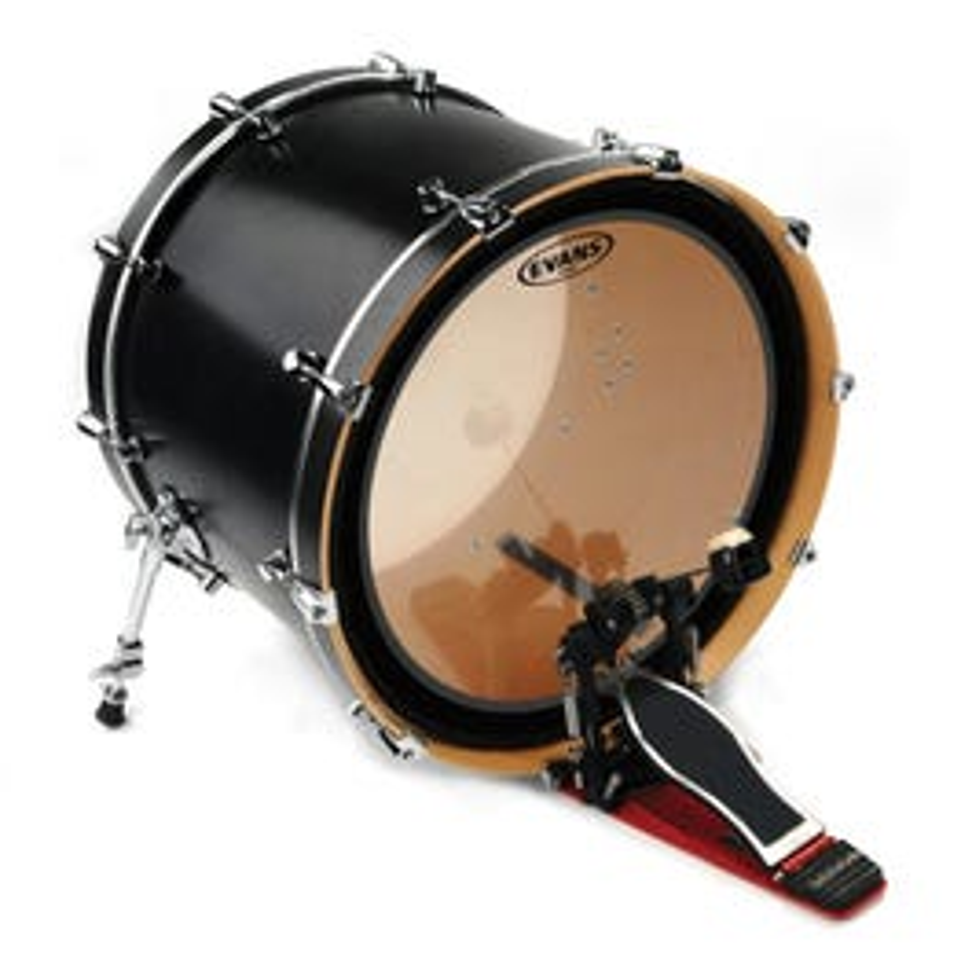 """Evans 16"""" EMAD Clear Tom Hoop Drum Head"""