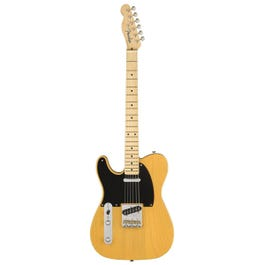 Image for American Original '50s Telecaster Left-Handed Electric Guitar (Butterscotch Blonde) from SamAsh