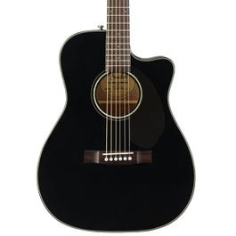 Image for CC-60SCE Acoustic Electric Guitar (Black) from SamAsh
