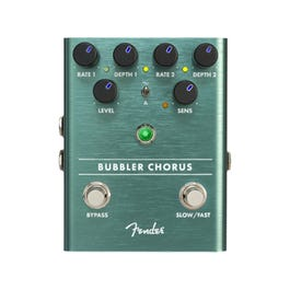 Image for Bubbler Analog Chorus Guitar Effect Pedal from SamAsh