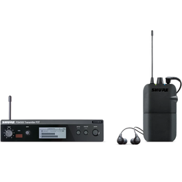 Shure PSM300 Wireless Personal Monitoring System with SE112-GR Earphones, and P3R Bodypack Receiver