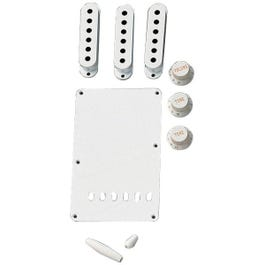 Image for Stratocaster Accessory Kit (White) from SamAsh