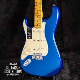 Fender American Ultra Left Handed Stratocaster(Cobra Blue)