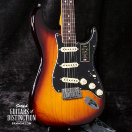 Fender American Ultra Luxe Stratocaster Electric Guitar 2-Color Sunburst (Rosewood)