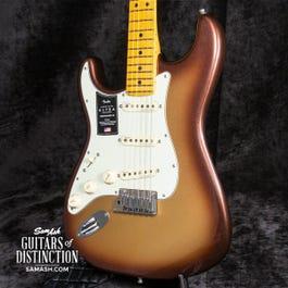 Fender American Ultra Stratocaster Left-Handed Electric Guitar Mocha Burst